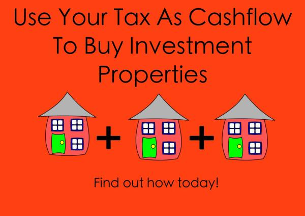 use your tax to buy investment property