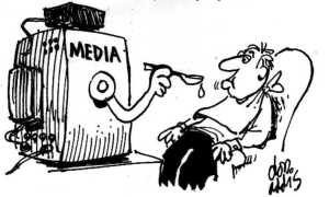 media lying